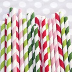 Holiday straws