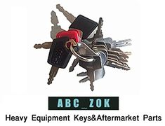 16 Keys Heavy Equipment Key Set / Construction Ignition Keys Set #Keys #Heavy #Equipment #Construction #Ignition