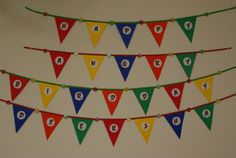 DIY Happy angry bird day banner