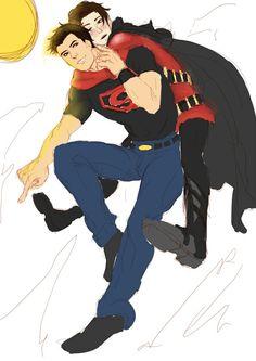 Tim Kon || Red Robin and Superboy ||