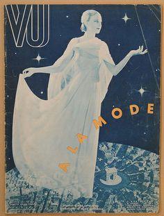 Amazing cover of VU magazine, April 1933