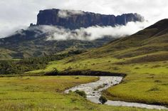 Mount Roraima is located in Venezuela and is said to be the highest of the Pakaraima mountain chain ... - Shutterstock