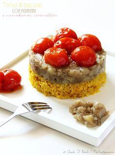 My Ricettarium: Tortino di cous cous con melanzane e pomodorini ca...