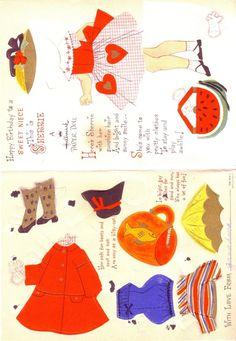 Vivian Smith Hallmark Paper Doll Cards - Lorie Harding - Álbumes web de Picasa