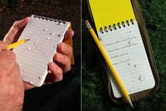 Rite In The Rain - Waterproof Pocket Notebook $6