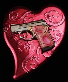 A pink Taurus PT-22 pistol at Big Boy's Guns and Ammo in Oklahoma City. Steve Gooch - The Oklahoman