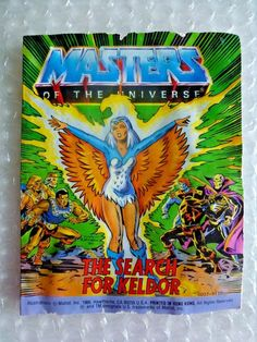 mASTERS OF THE UNIVERSE MINI COMIC THE SEARCH FOR KELDOR VINTAGE 1986 TOY PROMO
