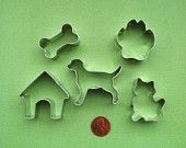 Mini Dog Bone Cookie Cutter -