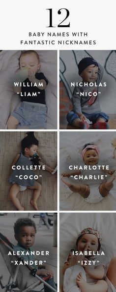 Trendy Baby Names With Nicknames Boys - Baby Boy Names Baby Girl Names Names With Nicknames, Baby Boy Nicknames, Nicknames For Girls, Unique Girl Names, Cool Names For Boys, Baby Names For Boys, Baby Boy Names Strong, Baby Names 2018, Writing Tips