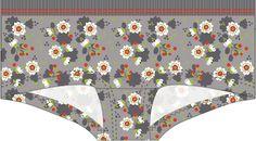 Materials: * Knit fabric (Sekura Grey by Lillestof ) - 50 cm x 70 cm (20 in x 28 in) * Foldover elastic - 2,5 cm x 80 cm (1 in ...