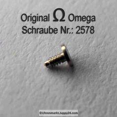Omega Schraube 2578 Part Nr. Omega 2578 - Omega Ersatzteile -