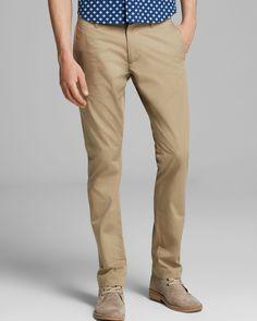 Pants 101: Khaki Pants, Home and Abroad