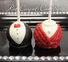 Cute Red Carpet Themed Cake Pops