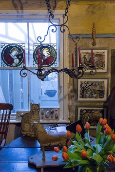 The home and studios of Mark Hearld and Emily Sutton in York (York Open Studios, 2013)