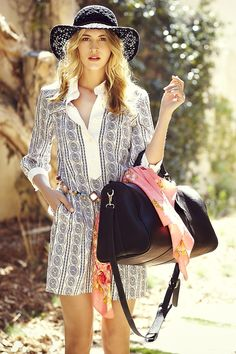 Cassidy Weekender Bag....not only do I love the name but the bag is gorgeous too!