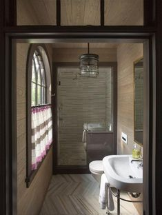 There is nothing quite as statement making in a bathroom than beautiful tile. Whether geometric, herringbone, or mosaic patterns, we love them all.