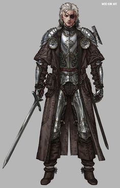 Character Concept, Project W, Woo Kim on ArtStation at Fantasy Character Design, Character Creation, Character Design Inspiration, Character Concept, Character Art, Character Sheet, Character Reference, Fantasy Male, Fantasy Armor