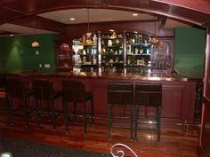 Irish Pub Home Bar | McQueenTree Pub | Pinterest | Pub bar ...