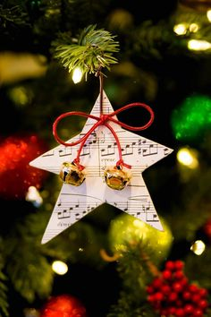 Throughout the holiday, I'll be sharing numerous ideas for music-themed Christmas ornaments. (Pssst... these are perfect for personalized student gifts!) These are collected from fellow teachers at...