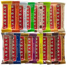 LarabarFruit & Nut Bars are a gluten free snack as well as equals a full serving of fruit! Larabar normally makes gluten free, dairy free, soy free, vegan, and uses all whole foods, depending on which bar you choose.
