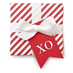"SUGAR PAPER ""XO"" TAGS"