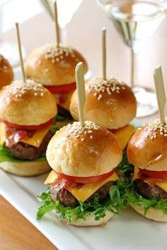 ★ miniature burgers ★