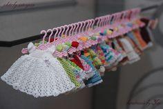tiny baby dresses, so cute!