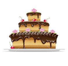 рисунок торта - Поиск в Google