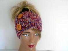 Head Knit, Crochet Headband, Multicolored Headband, Ear Warmers,Headband,Turban,Boho President,Womens President,Gift Ideas,Jasminejasmine  Very