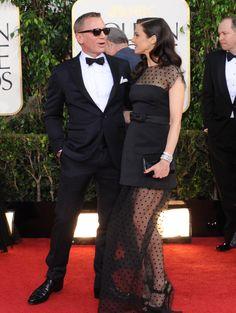 Daniel Craig and Rachel Weisz. Daniel Craig Rachel Weisz, Daniel Craig James Bond, Golden Globes 2013, Daniel Graig, Best Bond, James Bond Movies, Special People, Celebs, Celebrities