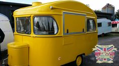 Restoration repair and conversion of vintage caravans for catering and business use