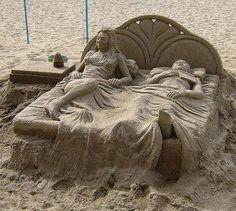 Ever seen such sand art ?