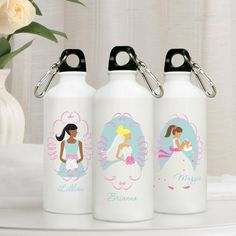 Personalized Goin' to the Chapel Water Bottle wedding favors