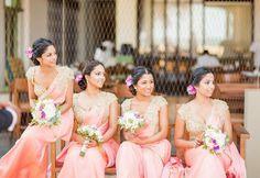 For my girls Indian Bridesmaid Dresses, Bridesmaid Saree, Bridesmaid Outfit, Wedding Bridesmaids, Bridal Dresses, Flower Girl Dresses, Wedding Sari, Desi Wedding, Bengali Wedding