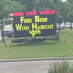 Hope you are doing something more exciting than this on father's day.  #father #fathersday #beer #hair #marketing