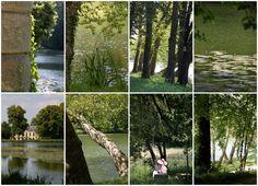 Jean-Jacques Rousseau Park in Ermenonville, France