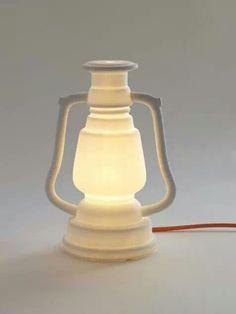Porselein lantaarn via studiowinkel