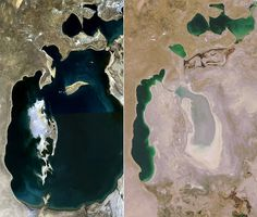 The Disappearing Aral Lake and the Ship Graveyard of Moynaq