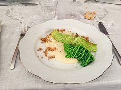 Végétal - Canneloni de chou, farce au sarrasin et shiitake