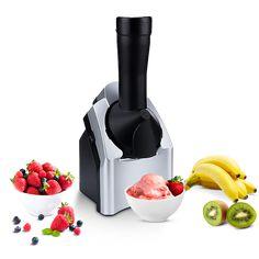 Sugar Free Desserts, Homemade Desserts, Healthy Desserts, Healthy Sugar, Healthy Recipes, Banana Ice Cream, Make Ice Cream, Frozen Fruit, Frozen Treats
