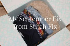 My September Fix from Stitch Fix #Fashion #StitchFix