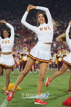 Football cheerleader usc