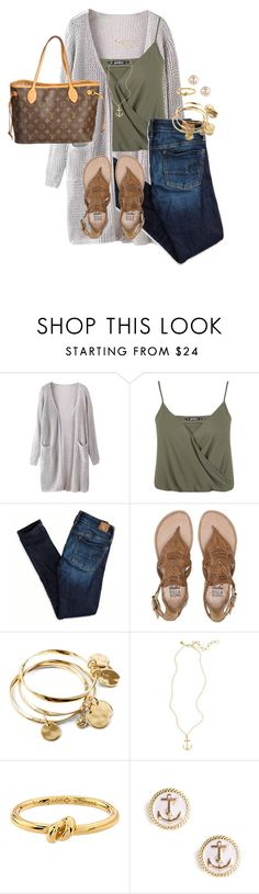 """Fair week!!!"" by anna-watson00 ❤ liked on Polyvore featuring Miss Selfridge, American Eagle Outfitters, Billabong, Vera Bradley, Brooks Brothers, Kate Spade, BaubleBar and Louis Vuitton"