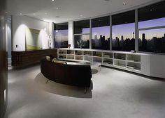 Contemporary Round Apartment with Astounding Skyline Views of Sydney