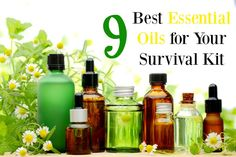 What are the best essential oils to store away for the long term? Learn abut the 9 best essential oils for your survival kit and the top 4 ways to use them.
