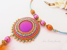 bead embroidery jewelry - Buscar con Google