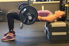 Derfor bør du trene hip-thrust - Trening.no Hip Thrust, Gym, Motivation, Excercise, Gymnastics Room, Gym Room, Inspiration