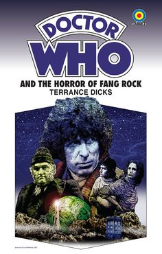 MY FAVORITE ARTIST FOR DOCTOR WHO AND OTHER BRITISH ICONS!! Doctor Who  The Horror of Fang Rock  18 x 12 Target by DadManCult, $12.99