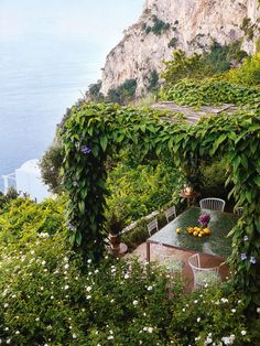 to have a terrace like this...
