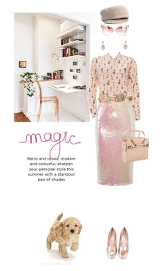 """Fairy dust"" by pensivepeacock ❤ liked on Polyvore featuring Essentiel, Viktor & Rolf, Eugenia Kim and Chiara Ferragni"